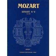 MOZART W.A. SONATE N°9 K 310 PIANO