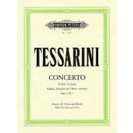 TESSARINI C. CONCERTO SOL MAJEUR OP 1 N°3 VIOLON