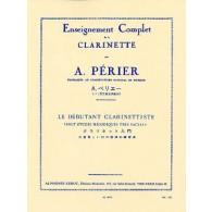PERIER A. LE DEBUTANT CLARINETTISTE
