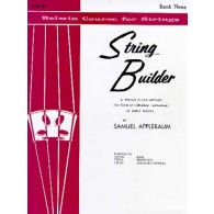 APPLEBAUM STRING BUILDER VOL 3 VIOLON
