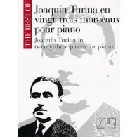 TURINA J. 23 MORCEAUX POUR PIANO