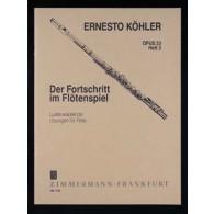 KOHLER E. ETUDES OP 33 VOL 3 FLUTE