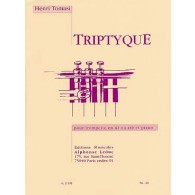 TOMASI H. TRIPTYQUE TROMPETTE UT OU SIB