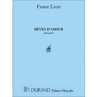 LISZT F. REVES D'AMOUR PIANO