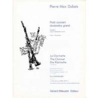 DUBOIS P.M. PETIT CONCERT DEVIENDRA GRAND VOL 1 3 CLARINETTES