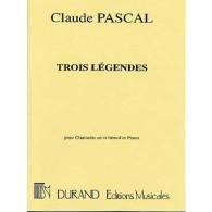 PASCAL C. LEGENDES CLARINETTE