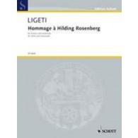 LIGETI G. HOMMAGE A HILDING ROSENBERG