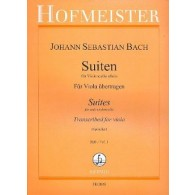 BACH J.S. 6 SUITES VOL 1 ALTO