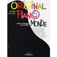 LE COZ M. ORIGINAL PIANO MONDE