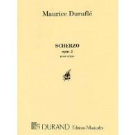 DURUFLE M. SCHERZO OP 2 ORGUE