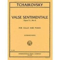 TCHAIKOVSKY P.I. VALSE SENTIMENTALE VIOLONCELLE