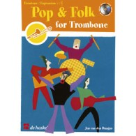 POP & FOLK FOR TROMBONE OU EUPHONIUM