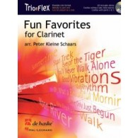SCHAARS P.K. FUN FAVORITES FOR CLARINETTE