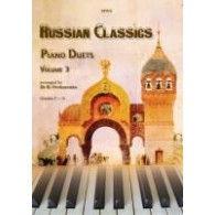 RUSSIAN CLASSICS PIANO DUETS VOL 3