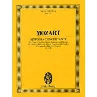 MOZART W.A. SYMPHONIE CONCERTANTE K 297b PARTITION DE POCHE