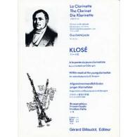 KLOSE H.E. A LA PORTEE DU JEUNE CLARINETTISTE VOL 6: DUOS CLARINETTES
