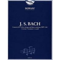 BACH J.S. CONCERTO BWV 1041 VIOLON