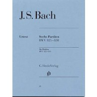 BACH J.S. 6 PARTITAS PIANO