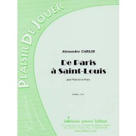 CARLIN A. DE PARIS A SAINT-LOUIS FLUTE