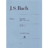 BACH J.S. TOCCATAS PIANO