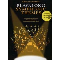 PLAYALONG SYMPHONIC THEMES TRUMPET