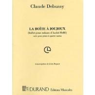 DEBUSSY C. LA BOITE A JOUJOUX PIANO 4 MAINS