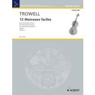 TROWELL A. MORCEAUX FACILES VOL 1 VIOLONCELLE