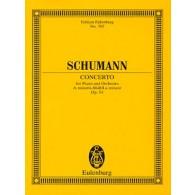 SCHUMANN R. CONCERTO OP 54 PIANO ET ORCHESTRE CONDUCTEUR