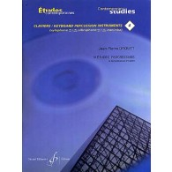 DROUET J.P. 18 ETUDES PROGRESSIVES VOL 4 PERCUSSION A CLAVIER