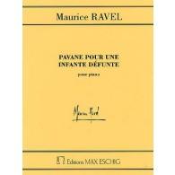 RAVEL M. PAVANE POUR UNE INFANTE DEFUNTE PIANO