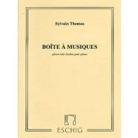 THOMAS S. BOITE A MUSIQUES PIANO