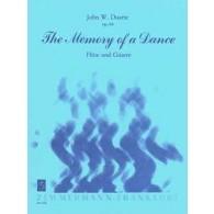 DUARTE J.W. THE MEMORY OF DANCE OP 64 FLUTE ET GUITARE
