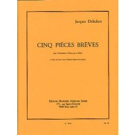 DELECLUSE J. CINQ PIECES BREVES PERCUSSIONS
