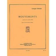 DELERUE G. MOUVEMENTS PERCUSSIONS