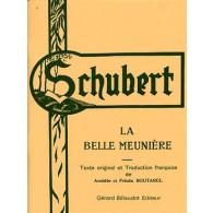 SCHUBERT F. LA BELLE MEUNIERE CHANT