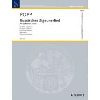 POPP W. RUSSISCHES ZIGEUNERLIED FLUTE