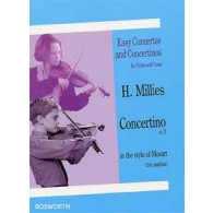 MILLIES H. CONCERTINO RE MAJEUR VIOLON
