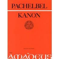 PACHELBEL J. KANON 3 VIOLONS ET B.C.