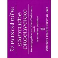 BUXTEHUDE D. SAMTLICHE ORGELWERKE VOL 1 ORGUE