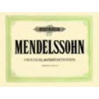 MENDELSSOHN F. ORIGINAL KOMPOSITIONEN PIANO 4 MAINS