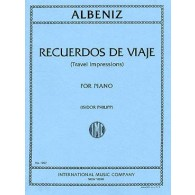 ALBENIZ I. RECUERDOS DE VIAJE OP 71 PIANO