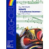 PRINTEMPS G. SONATE A LA PRINCESSE INCONNUE FLUTE