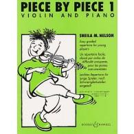 NELSON S. PIECE BY PIECE VOL 1 VIOLON
