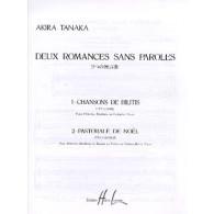 TANAKA A. 2 ROMANCES SANS PAROLES FLUTE