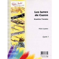 TANAKA K. LES LUNES DE CUZCO FLUTE