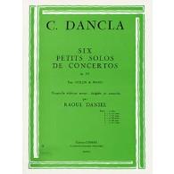 DANCLA C. PETIT SOLO DE CONCERTO OP 141 N°1 VIOLON