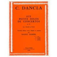 DANCLA C. PETIT SOLO DE CONCERTO OP 141 N°4 VIOLON