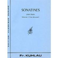 KUHLAU F. SONATINES OP 20 OP 55 VOL 1 PIANO