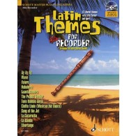 LATIN THEMES FOR FLUTE A BEC ALTO
