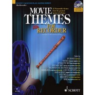 MOVIE THEMES FOR FLUTE A BEC ALTO